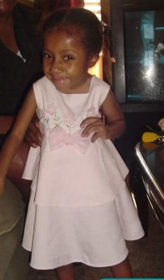 Jasmin little in pink dress