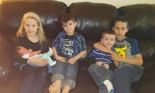 Kelsey 5 children