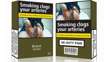 Bland UK tobacco pack