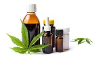 Medical Cannabis Oil in tincture bottles