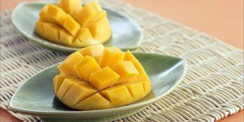 chopped up mango myrcene terpene