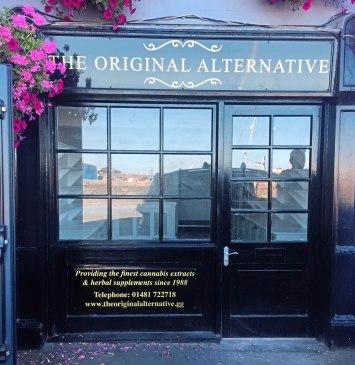Guernsey CBD shop medical cannabis retail on island