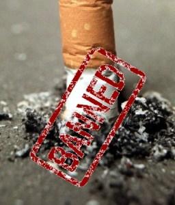 UK bans cigarette