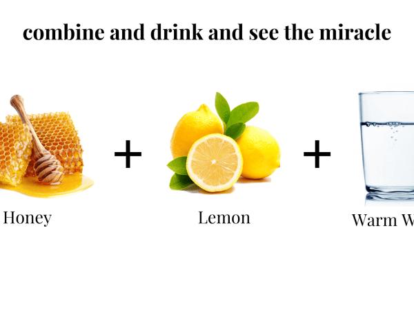 Proven Benefits of Honey Lemon Warm Water drink