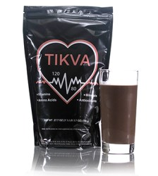 Tikva with chocolatedrink