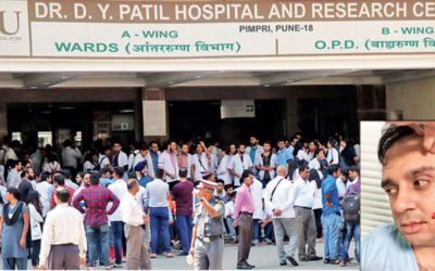 Another Horrible Attack On Resident Doctor in Pune. Doctors on Protest!