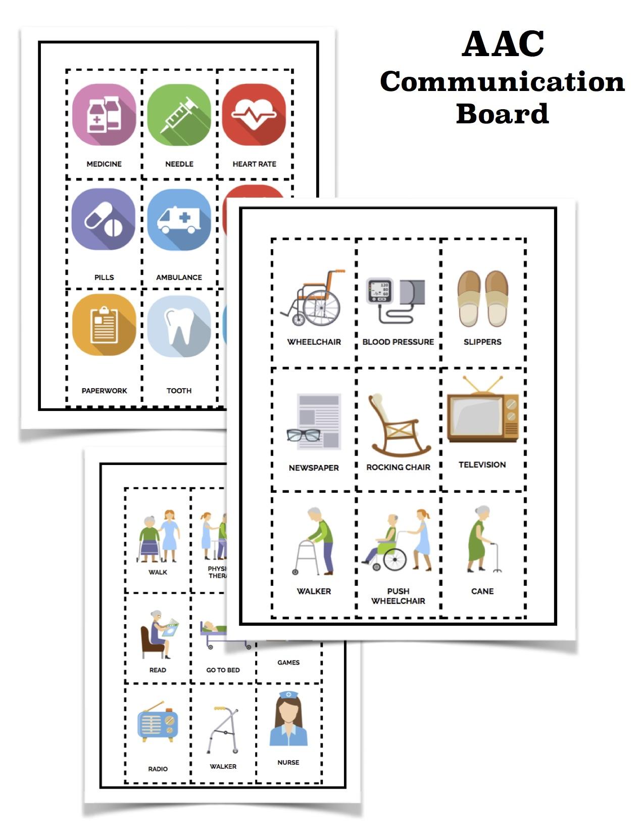 Aac Communication Board