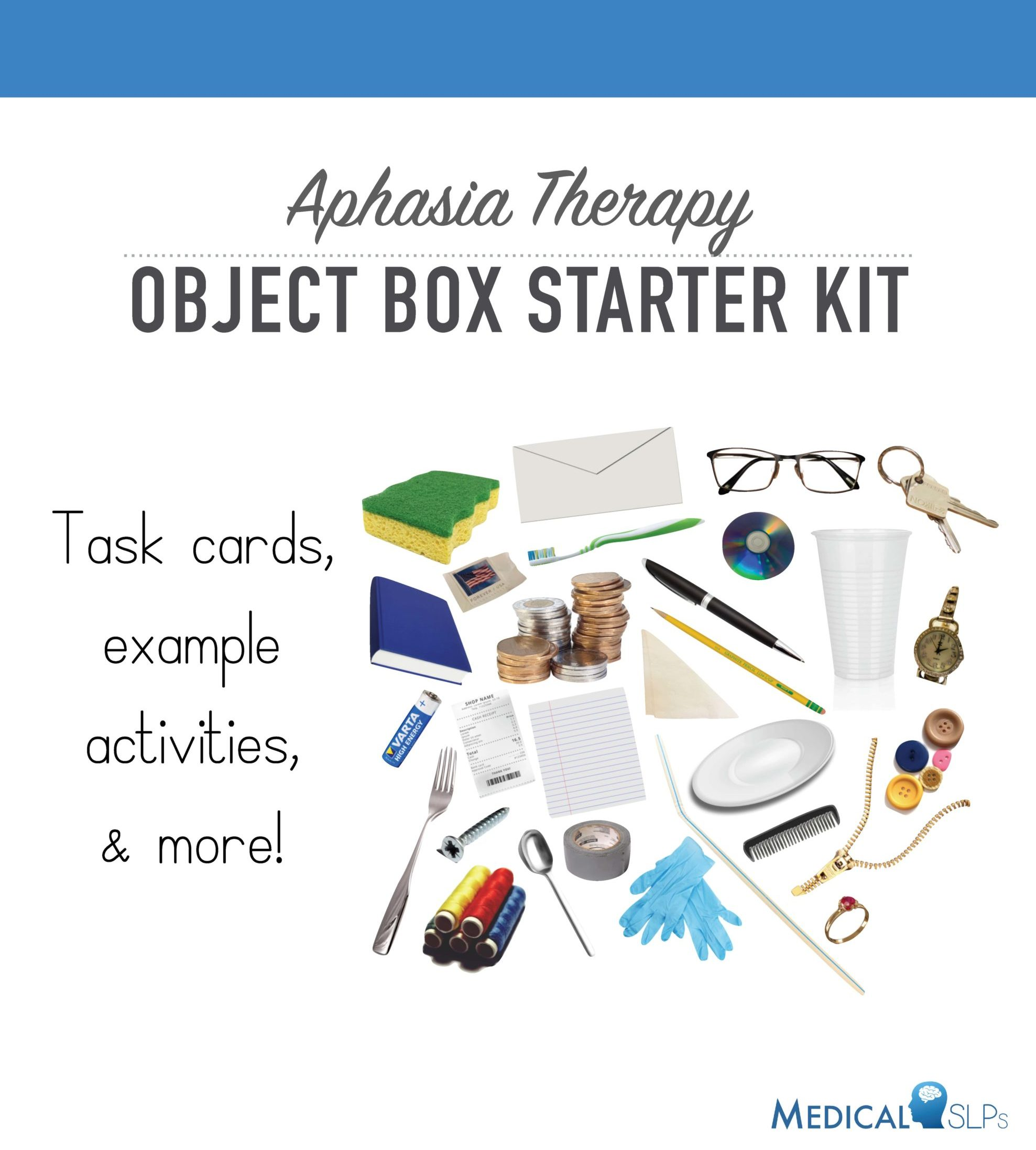 Aphasia Object Box Starter Kit