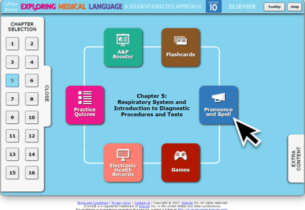 LaFleur Medical Terminology Online Resources Pronounce and Spell