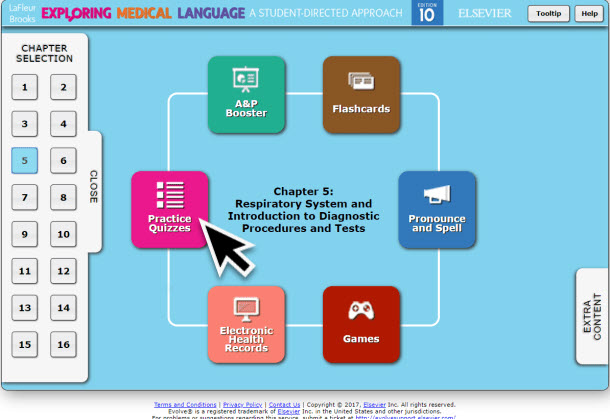 LaFleur Medical Terminology Online Resources Quizzes