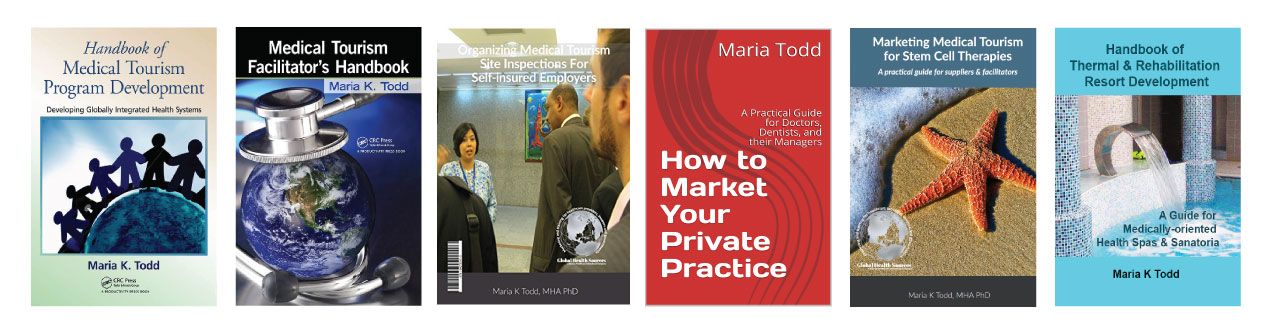 health tourism books by maria todd