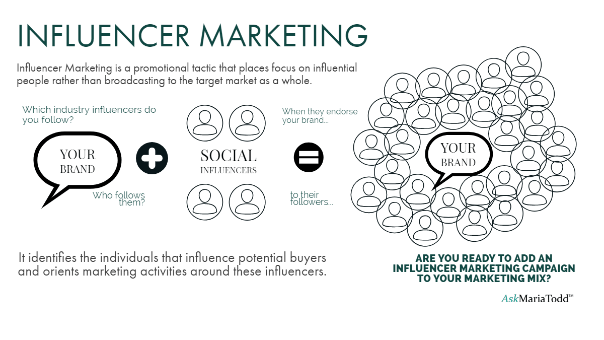 Maria Todd Medical Tourism influencer marketing infographic
