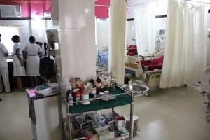 Intensive care unit at St.Anthony's Hospital, Anjuna, Goa