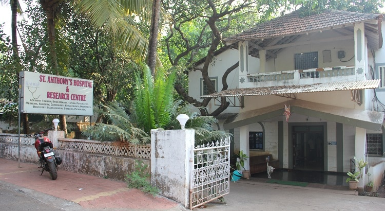 St.Anthony's hospital, Anjuna, Goa, India