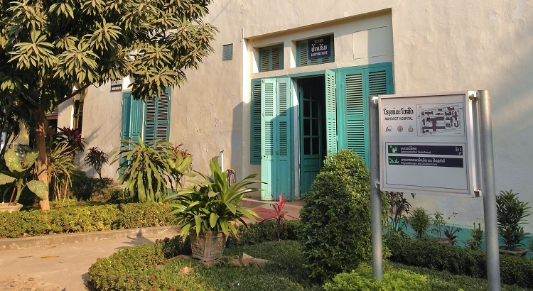 Mahosot hospital acupuncture department, Vientiane, Laos