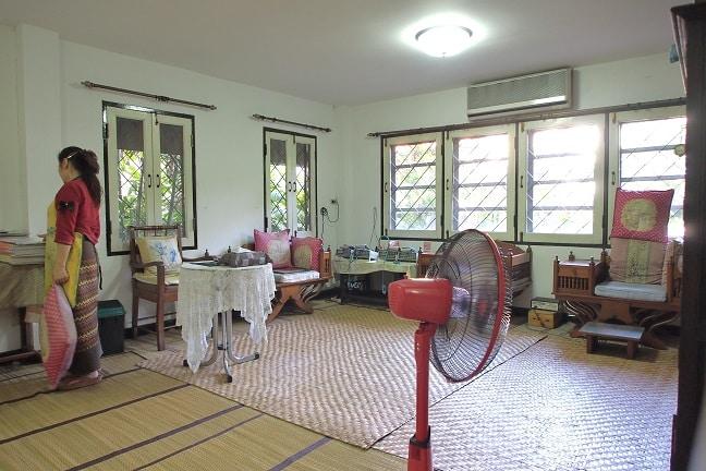 Pyro-Energen treatment room in Chiang Mai Ayurvedic Center