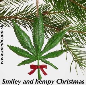 Hempy Vianočné sviatky všetkým pacientom a priateľom konope. Úsmev lieči - Konope lieči :)