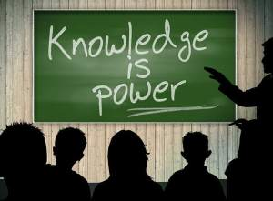 "Image stating ""knowledge is power"" depicting Medicare and Diabetes Education"