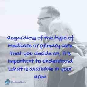 Medicare or Primary care