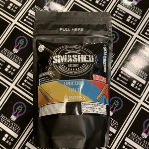 Smashed – 5,000mg Unicorn Belt Gummies