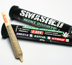 Smashed – Mini Doobie – White Gold (Hybrid)