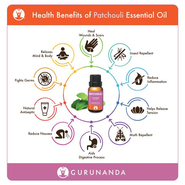 benefits of using patchouli essential oil