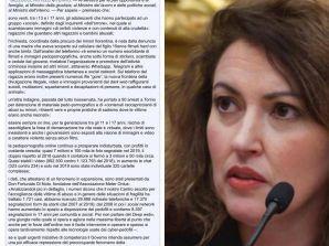 Intervento dell'On. Maria Teresa Bellucci contro la pedopornografia online