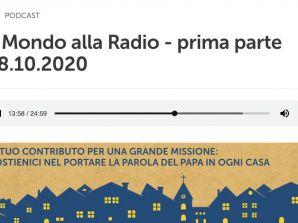 """Intervista alla Dott.ssa Ercoli a """"Il Mondo alla Radio"""" del 28/10/2020"""