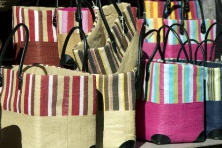 bags in the sun