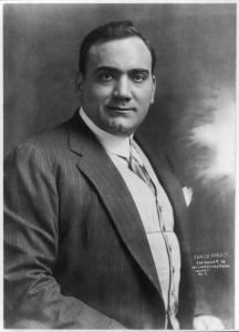 Caruso portrait