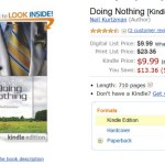 Doing Nothing – New Revised Edition