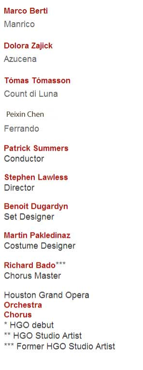 Houston Il Trovatore cast copy