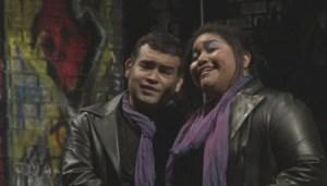 Aquiles Machado and Lucrecia Garcia