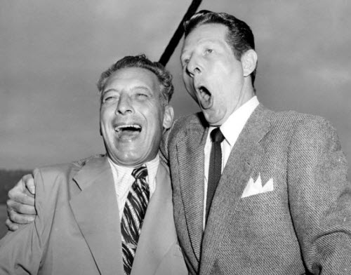 Pinza with Danny Kaye