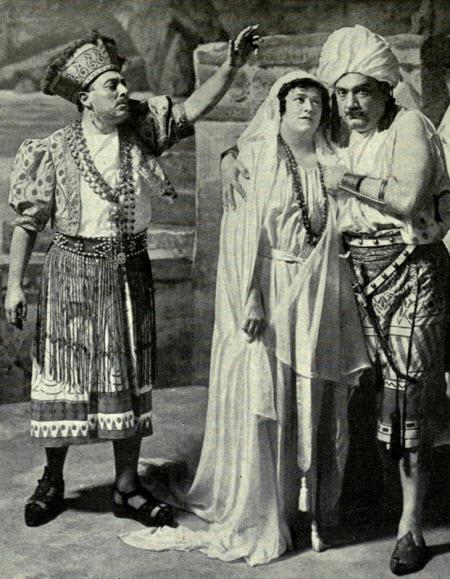 De Luca, Hempel, and Caruso the 1916 principals