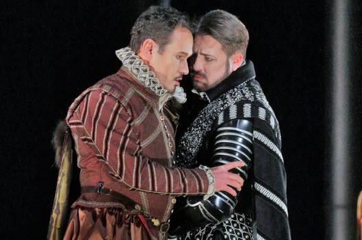 Mariusz Kwiecien and Matthew Polenzani