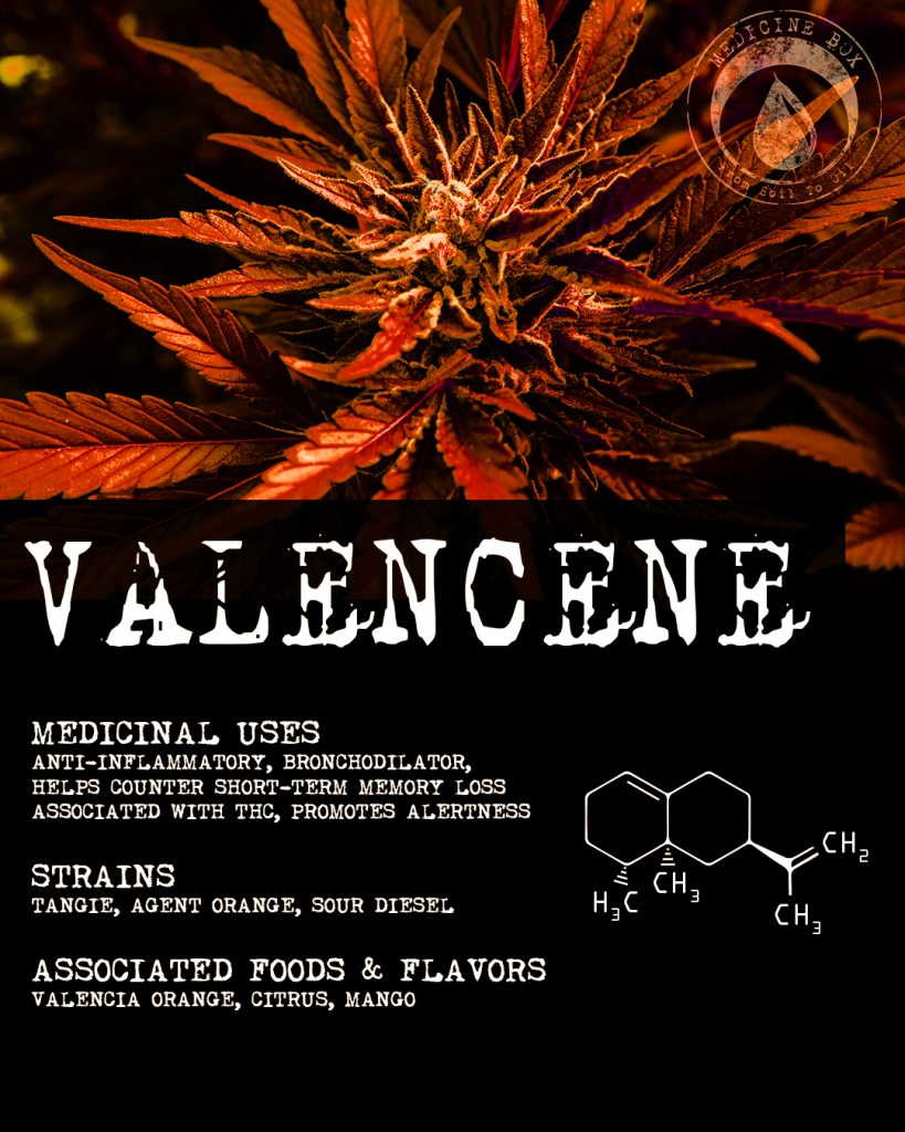 valencene terpene tuesday medicine box