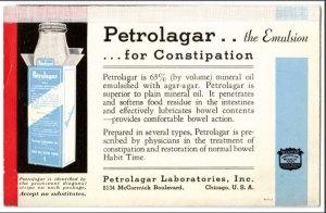 Petrolagar..the Emulsion...for Constipation
