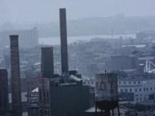 An industrial landscape.