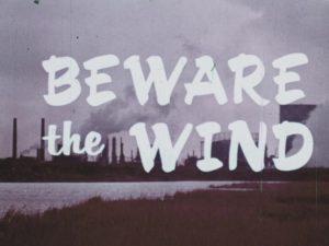 Beware the Wind title screen