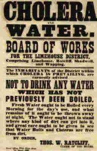 Cholera Teaching Resource