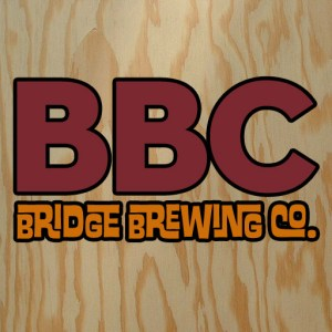 logo for the Bridge Brewing Company