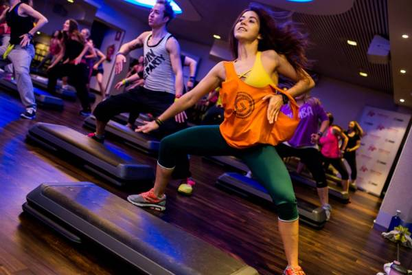 Treadmill Dance Aerobics