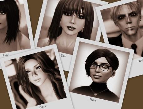 Pearl, Elle, Newton, Oona, Myra & The BAOC Award