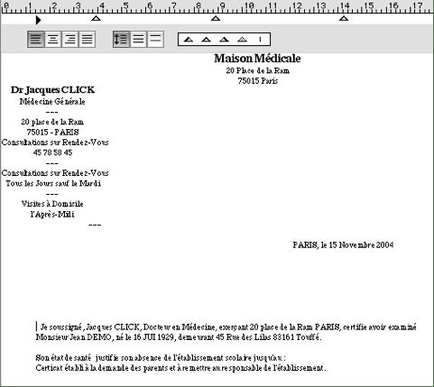 Certificats Ordonnances Paramedicales