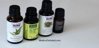 Aceite de árbol de té para receta de acné