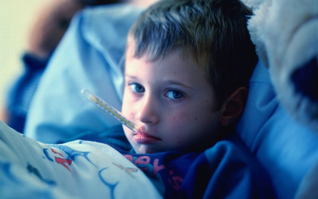 Las enfermedades en niños más comunes