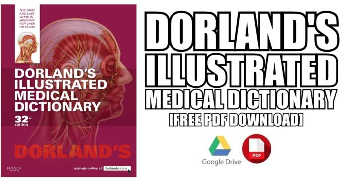 Dorlands Illustrated Medical Dictionary Pdf Free Download Direct