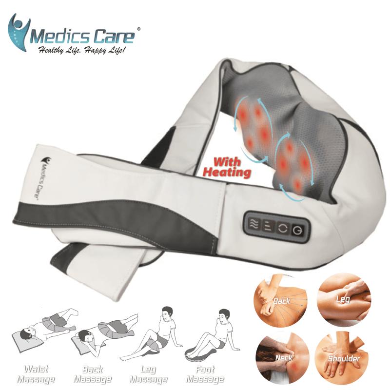 חגורת עיסוי חשמלית מקצועית לגב , צוואר,רגליים מולטי פונקציונלית מבית MC-4710 MEDCIS CARE