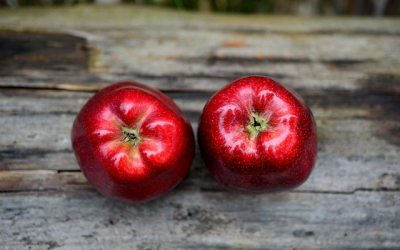 Porque comer maçãs orgânicas?